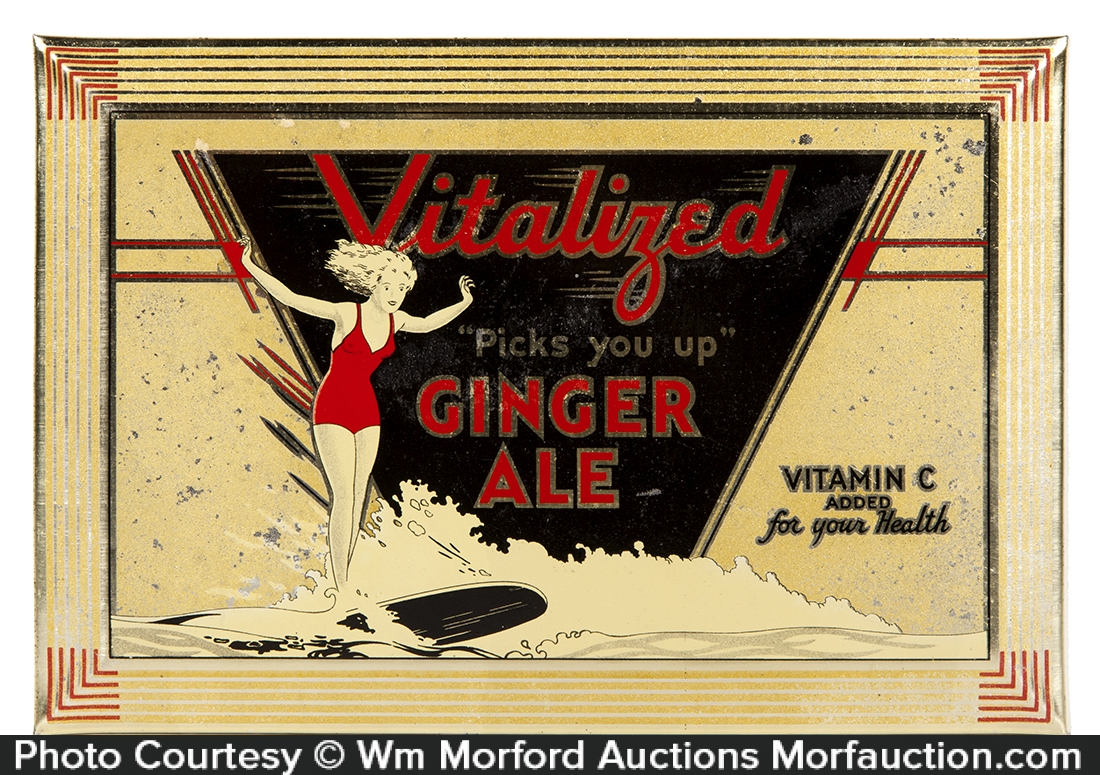 Vitalized Ginger Ale Sign