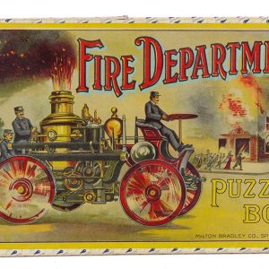 Fire Department Puzzle Box