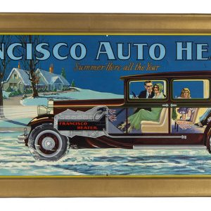 Francisco Auto Heaters Sign