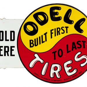 Odell Tires Sign