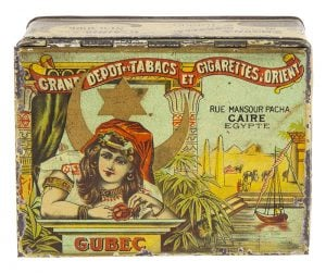 Gubec Tobacco Tin