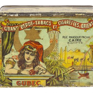 Gubec Tobacco Tin
