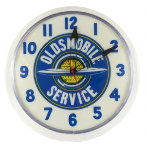Oldsmobile Service Clock