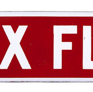 Rex Flour Porcelain Sign