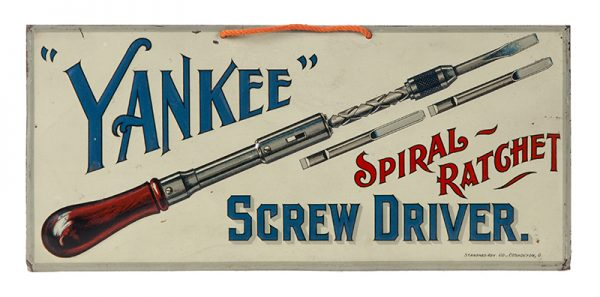 Yankee Screw Driver Sign