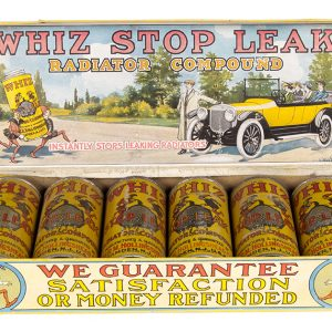 Whiz Stop Leak Radiator Compound Display