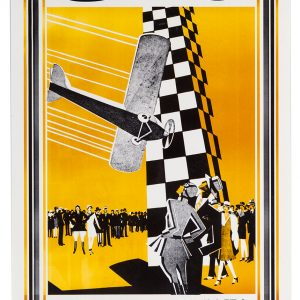 1928 National Air Races Poster
