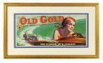 Old Gold Cigarettes Sign