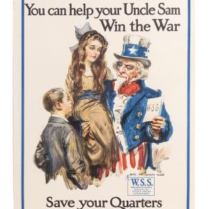 WW I War Savings Stamps Poster