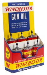 Winchester Gun Oil Display