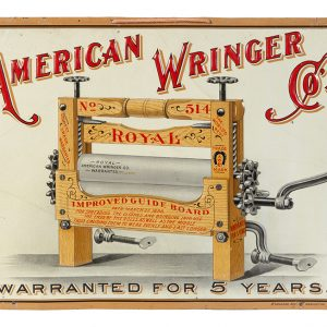 American Wringer Co. Sign