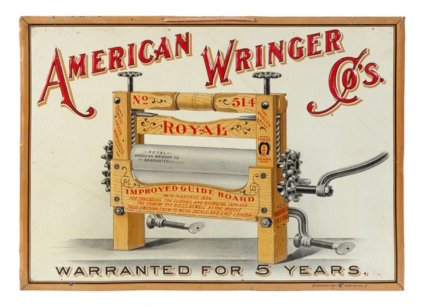 American Wringer Co. Sign