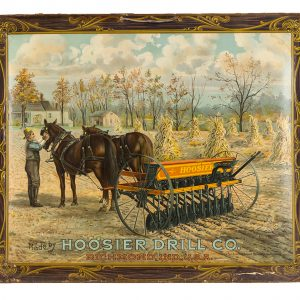 Hoosier Drill Co. Sign