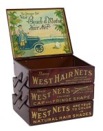 Beach & Motor West Hair Nets Display