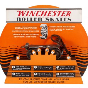 Winchester Roller Skates Display