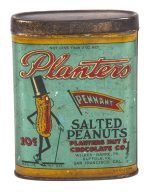 Planters Pennant Peanuts Pocket Tin