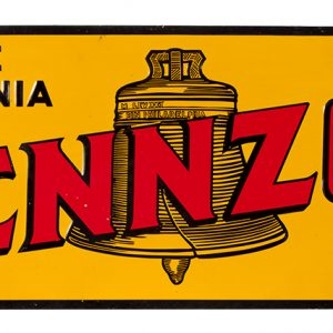 Early Pennzoil Sign
