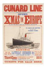 Cunard Line Xmas Poster