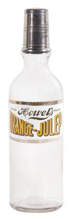 Howel's Orange-Julep Syrup Bottle