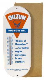 Oilzum Motor Oil Thermometer