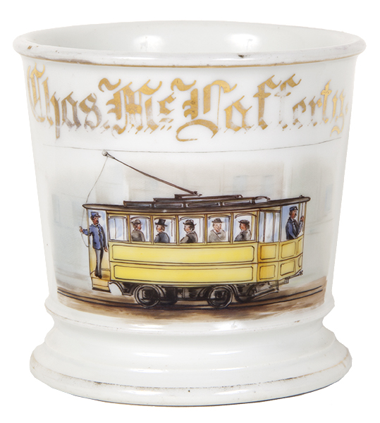 Trolley Car Shaving Mug