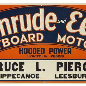 Evinrude Outboard Motors Sign