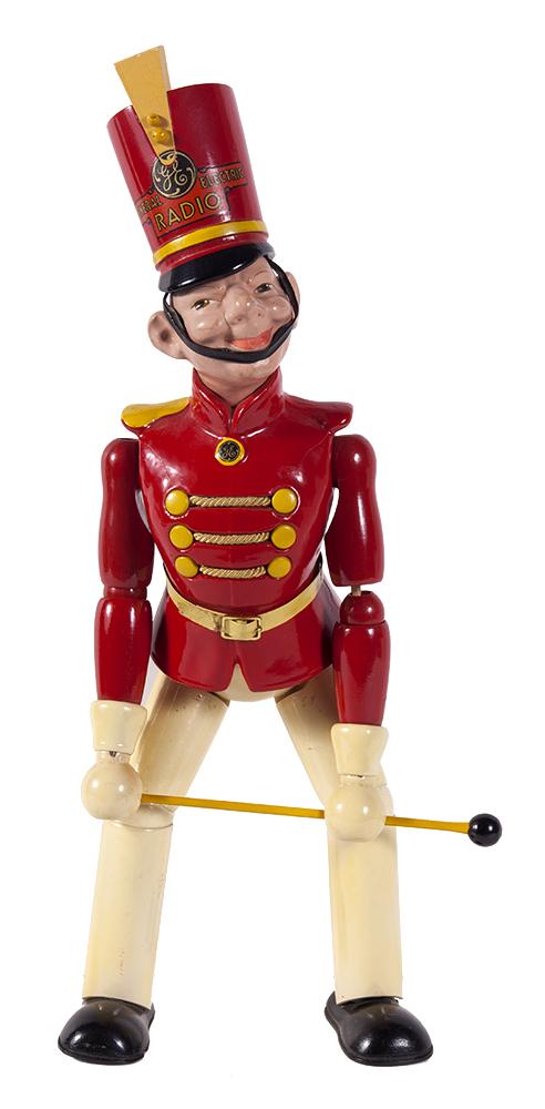 General Electric Radio Toy Figure