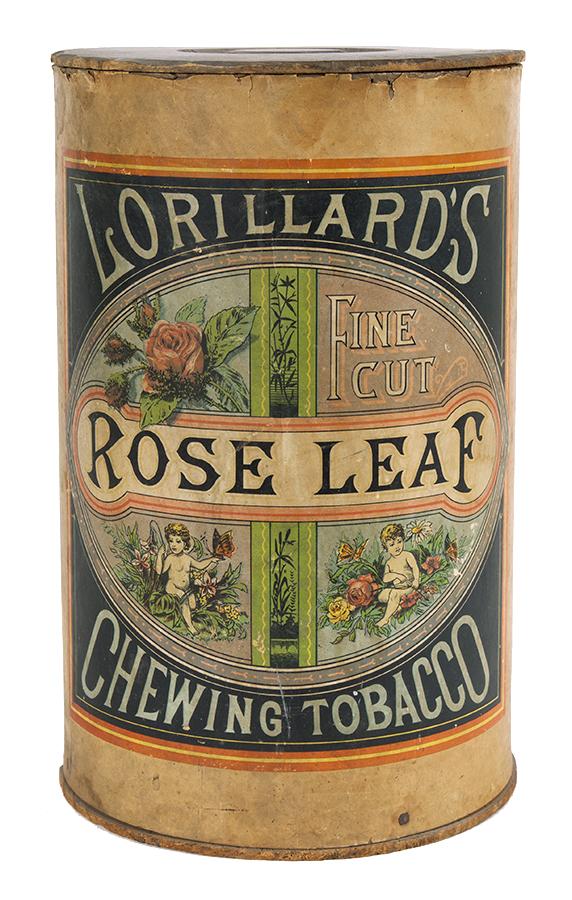 Rose Leaf Chewing Tobacco Bin