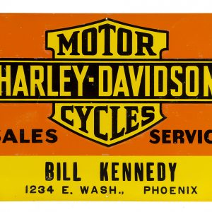 Harley-Davidson Motor Cycles Sign