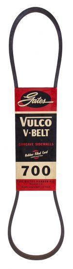 Gates Vulco V-Belt Trade Sign