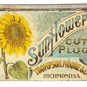 Sunflower Tobacco Tin