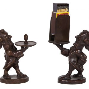 Edison Electric Bronze Figures