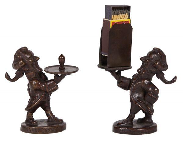 Edison Electric Bronze Figures