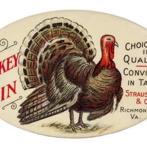 Turkey Gin Pocket Mirror