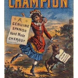 Champion Cheroot Cigars Sign