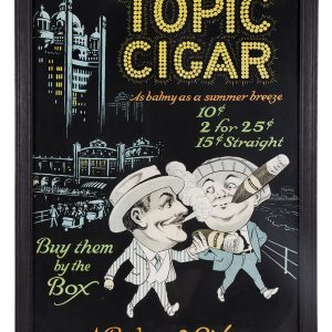 Topic Cigars Sign