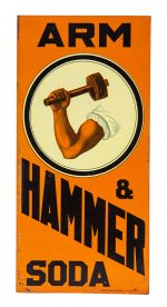 Arm & Hammer Soda Sign