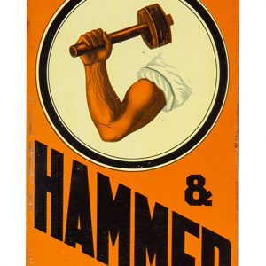 Arm & Hammer Soda Sign