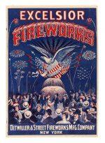 Excelsior Fireworks Poster