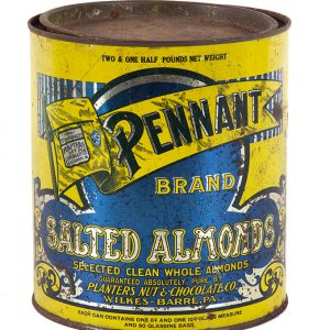Planters Salted Almonds Tin