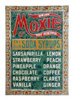 Moxie Soda Fountain Sign