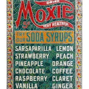 Moxie Soda Fountain Sign