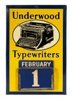 Underwood Typewriters Calendar