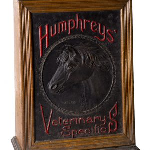 Humphrey's Veterinary Specifics Cabinet