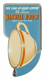 Maxwell House Sign