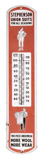 Stephenson Union Suits Thermometer