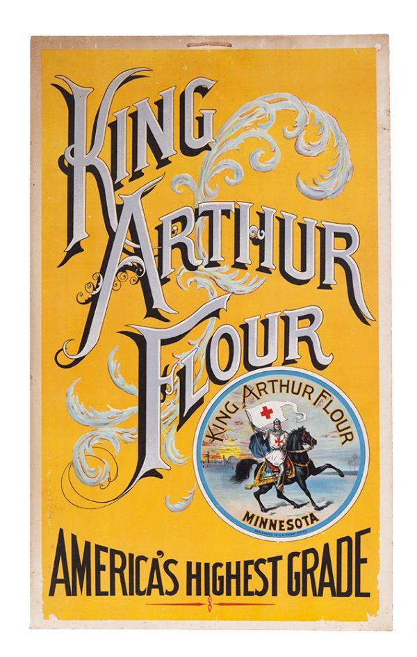 King Arthur Flour Sign
