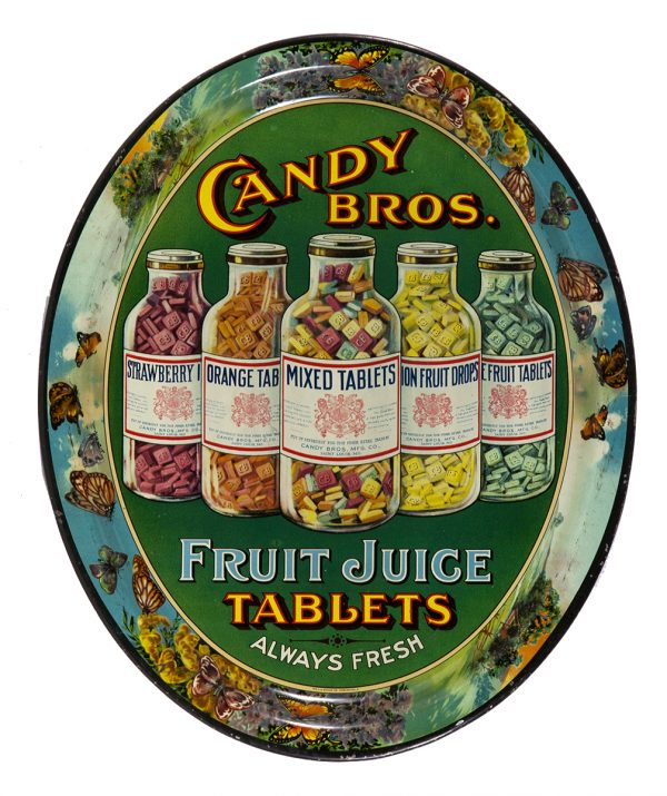 Candy Bros. Fruit Tablets Tray