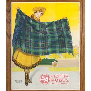 Motoring Robes Sign