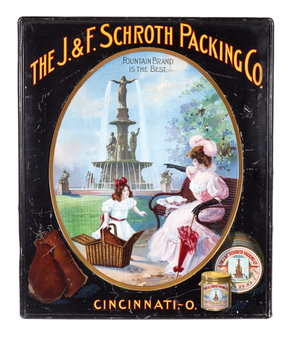 Schroth Packing Co. Sign
